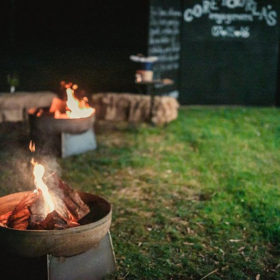 Hire outdoor open fires for Geelong events