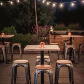 Geelong provincial bar table hire