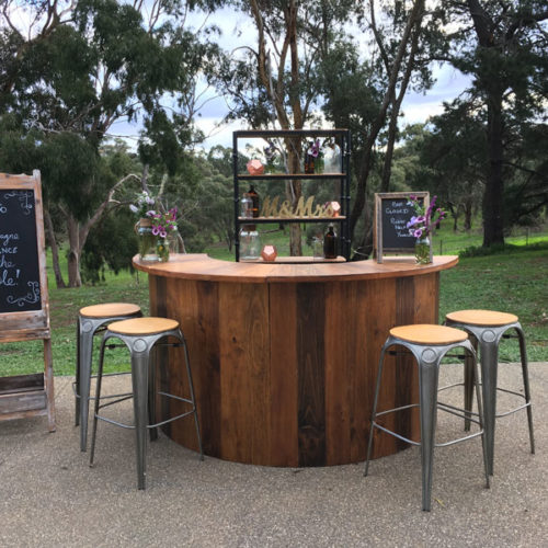Geelong round bar hire for events