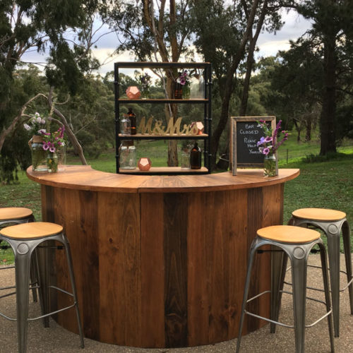 Geelong outdoor bar hire for events