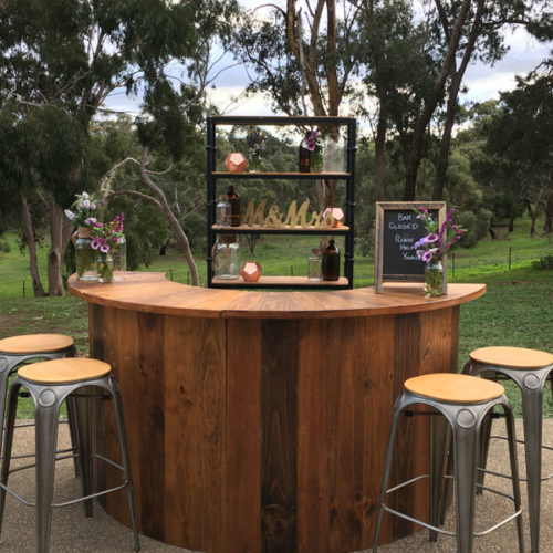 Outdoor bar hire for events Geelong