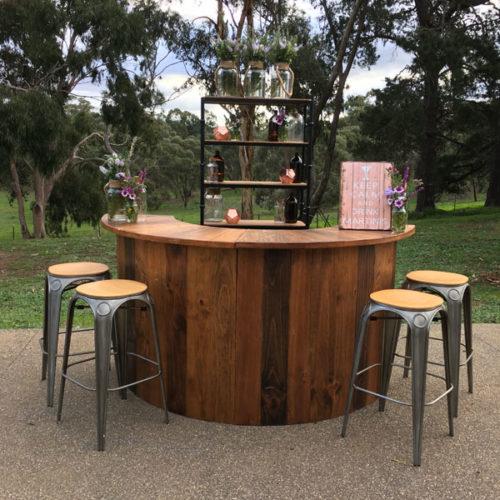 Wedding bar hire Geelong