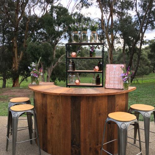 Geelong wedding bar hire