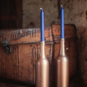Wedding accessories hire Geelong - candlestick holders