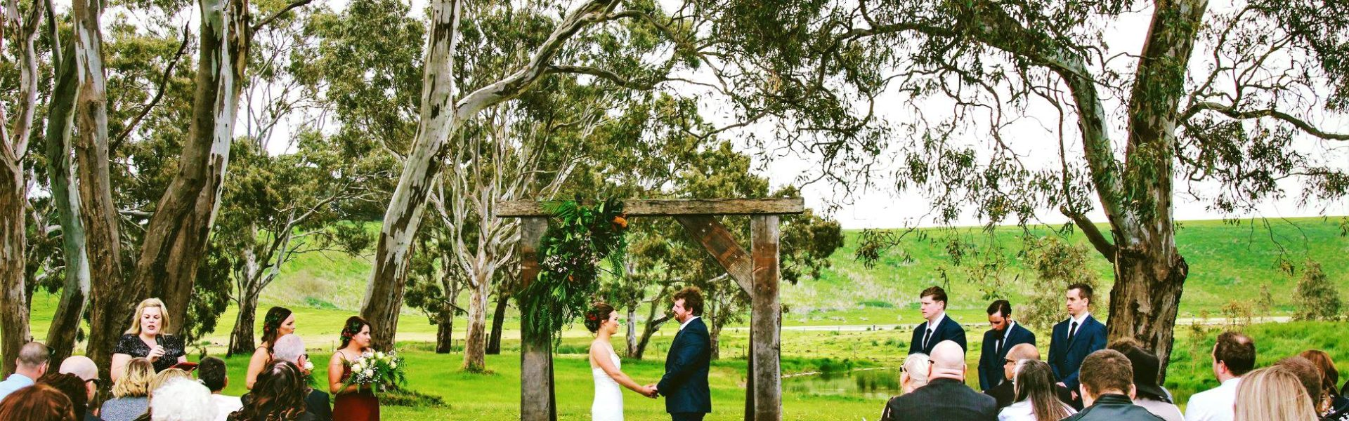 Ceremony wedding furniture hire package geelong mornington ballarat gippsland