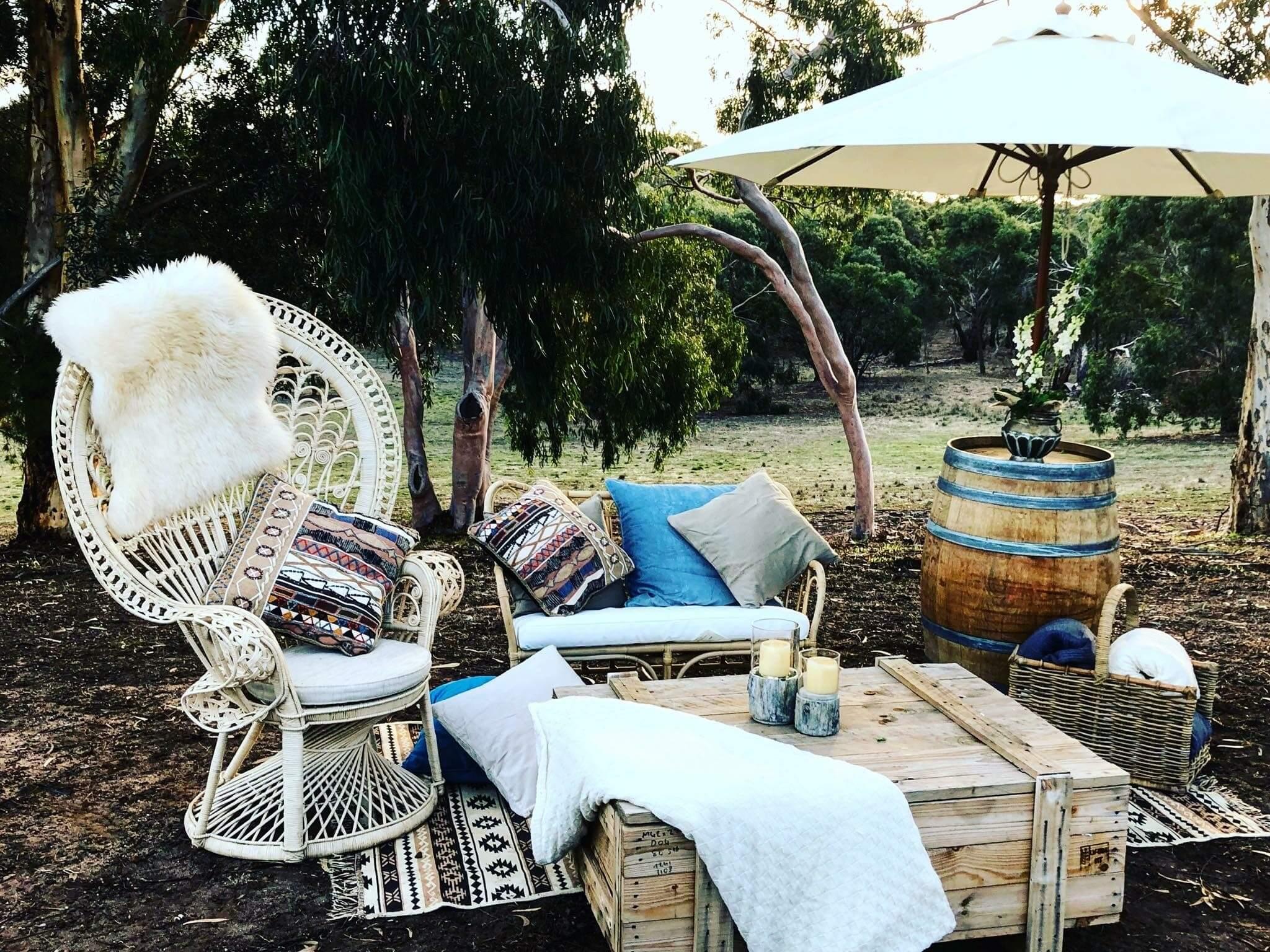 Elderberry event hire has certainly seen and been a part of its fair share of beautiful backyard weddings geelong the yarra valley ballarat gippsland